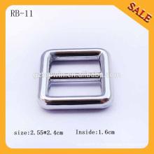 RB11China Factory Make Bag Boucle de glissière métallique, boucle coulissante réglable, boucle de libération latérale