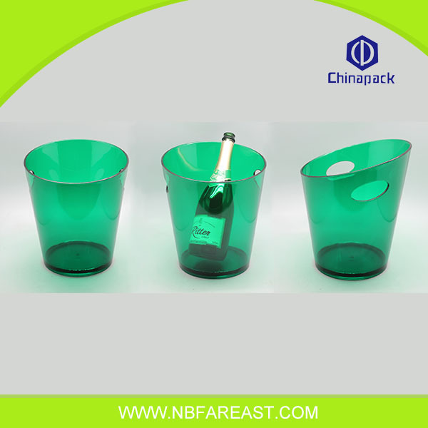 Colourful high quality ice buckets for party