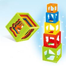 Brinquedo de plástico brinquedo do bebê Jenga (h9327005)