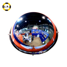 Acrylic safety full dome convex mirror 360 degree view