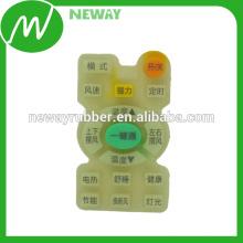 Personalizado de impresión de moldeo por compresión de caucho de silicona teclado