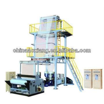 Máquina de la protuberancia que sopla de la película del embalaje de la industria SD-120-3000 LD / LLDPE de alta velocidad
