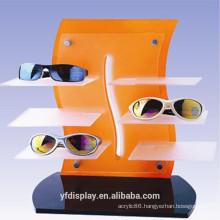 Colourful Acrylic Glasses Display Shelf