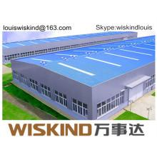 Bâtiment à plusieurs étages en structure d'acier préfabriquée