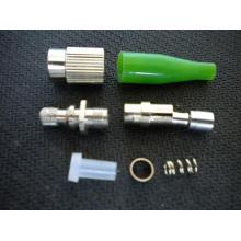 FC / APC Sm 3.0mm Conector de fibra óptica