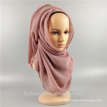 2017 wholesale hijab scarf muslim women hijab scarf dubai crinkle hijab pleated