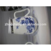 china top ten selling products funny ceramic mug cup, custom printed thermos mug