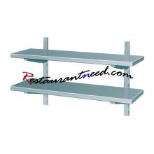 TS288 SS304 Decorative Metal Wall Shelf