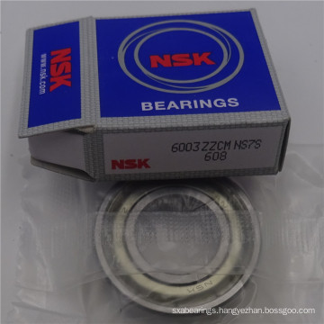 High Speed Low Noise Deep Groove Ball Bearing NSK 6003 ZZ Bearings with High Quality and Cheap Price