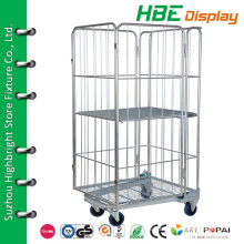 heavy duty roll cage cart,roller metal material lumber,warehouse roller carts