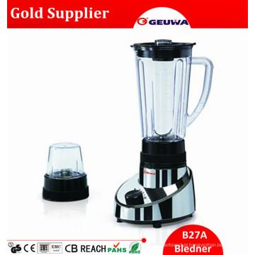 Liquidificador saudável do comida para bebé da venda quente global de Geuwa com moinho seco 2 em 1 para a venda com o frasco 1.25L 2 em 1 B27A