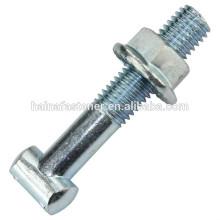 carbon steel t-shaped bolt with flange nut