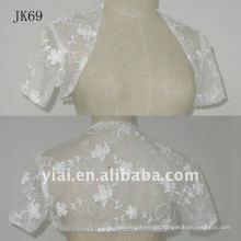JK69 women Beaded Long sleeves wedding jacket