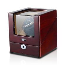Enrollador de reloj de madera individual