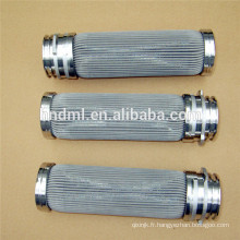 Élément filtrant en acier inoxydable, filtre fritté pour équipement industriel