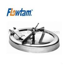 Санитарно-гигиеническая стальная эллиптическая крышка люка