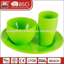 Vaisselle en plastique de gros chinois