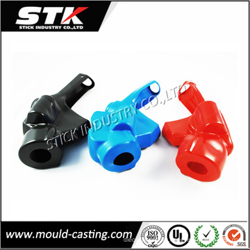 Plastikdüsen-Isolator, kundengebundene Soem-Design-Plastikeinspritzungs-Automobilteile