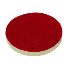 Abrasivetools felt wheel red self-sticking flat buffing wheel intensive car cleaning for polishing Cushion