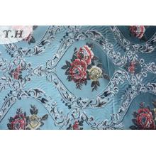Цветочный Обивочная Ткань Жаккарда Синеля Без