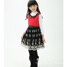 winter baby winter woolen clothing , girls party dresses woolen dress for winter