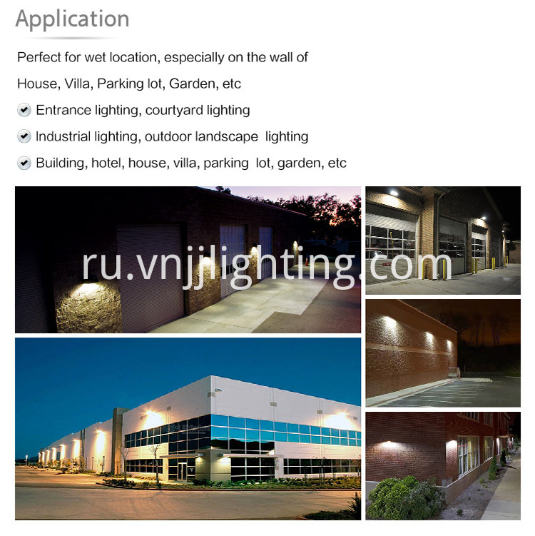 high luminous efficiency Wall pack