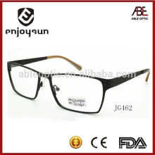 2015 lunettes de marque à la mode mens métal optique spectacels