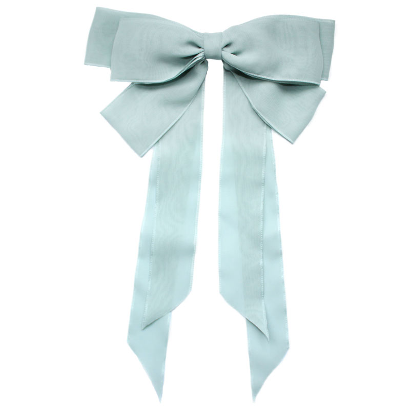 Ribbon Bow Light Blue