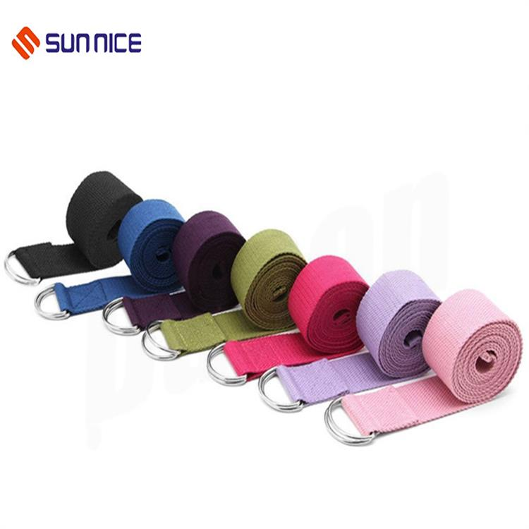 Yoga stretch belt band