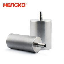 Stainless steel 316L porous gas sparger sintered air stone for aeration system