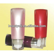 30ml 40ml 50ml tube shape acrylic airless bottle with pump