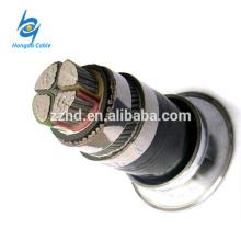Fio de aço de 4 * 70 cabos / cabo blindado da torneira de aço / cabo unarmored