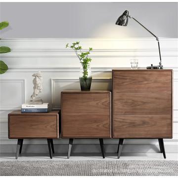 деревянный шкаф с ящиками