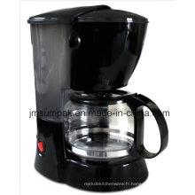 Haute qualité 0.6L 6 Cup Drip Coffee Maker