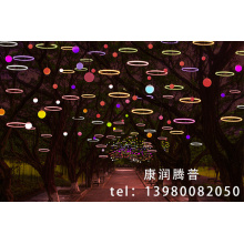 LED Baum Dekoration Kreis Lichter
