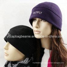 Inverno, quente, polar, polar, chapéu, microfleece, chapéu