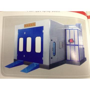 Cabine de peinture à chauffage électrique
