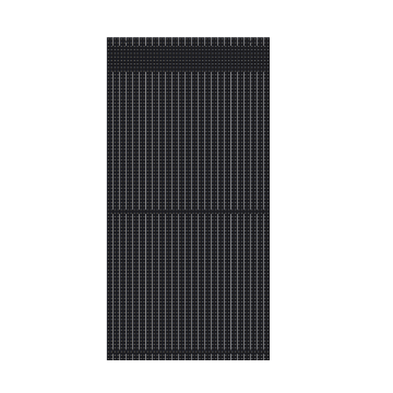 Skrin LED Pixel Spacing Transparent Lighting Grid Screen