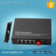 Видео+данные+Аудио+сеть Ethernet+Телефон+Сигнализация волоконно-оптический передатчик с портами fxo/FXS с