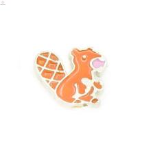 Сплава цинка небольшой подвески для медальоны животных,симпатичные kawaii белка подвески