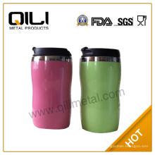 Comercio seguro para botella de agua, vaso acero inoxidable contigo café taza