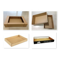 Colorful Printing Corrugated Paper Box with Clear Window