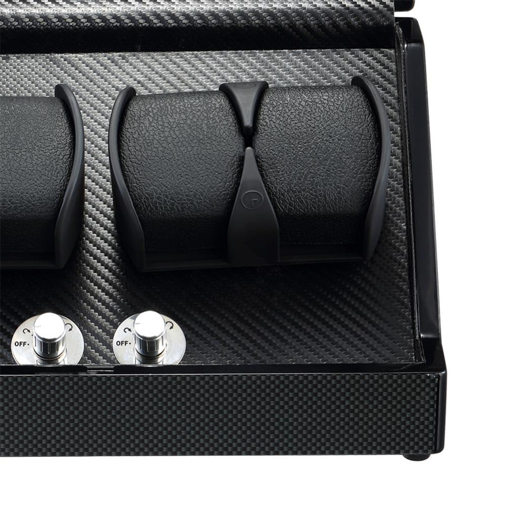 Ww 8183 Black Watch Winder Box Details