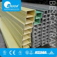 Fiber Glass GRP FRP Cable Trunking Tray 300 Width Popular Sale (CE, UL, cUL)
