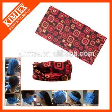 Подгонянная напечатанная безшовная трубчатая дешевая bandana для головки