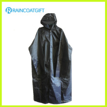 Haltbarer 100% Polyester PVC, der langen Parka-Regenmantel beschichtet