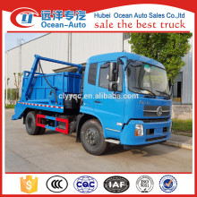 dongfeng kingrun garbage truck swing arm container