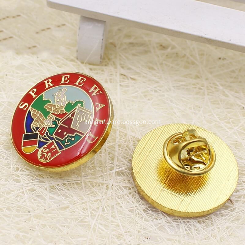 Round Pin Badges