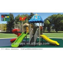 B10212 Plastic Outdoor Amusement Playground for children