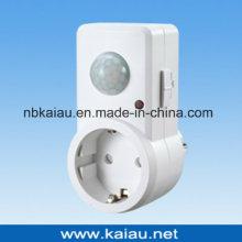 Adaptador de soquete de sensor de movimento PIR infravermelho